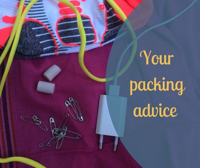 Your packing advice