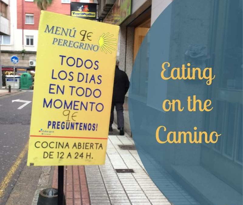 eating on the Camino blog