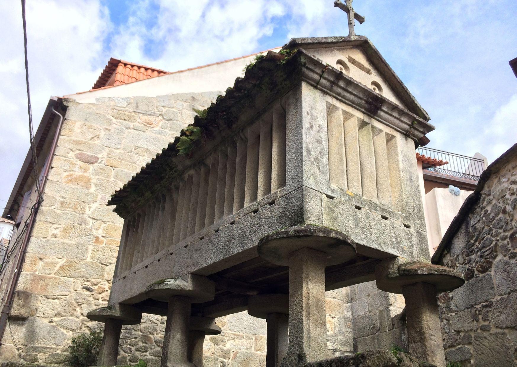 Combarro, on the Variante Espiritual