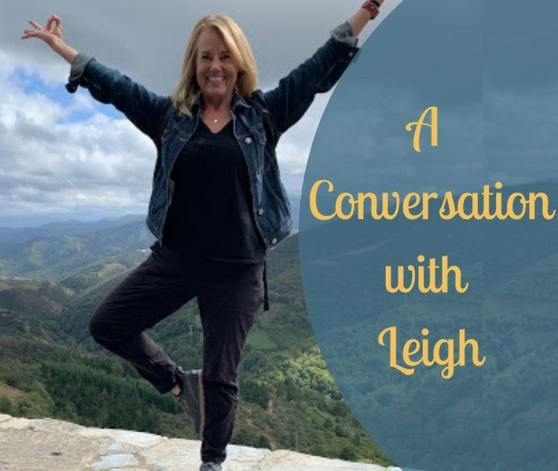 Conversation with Leigh blog